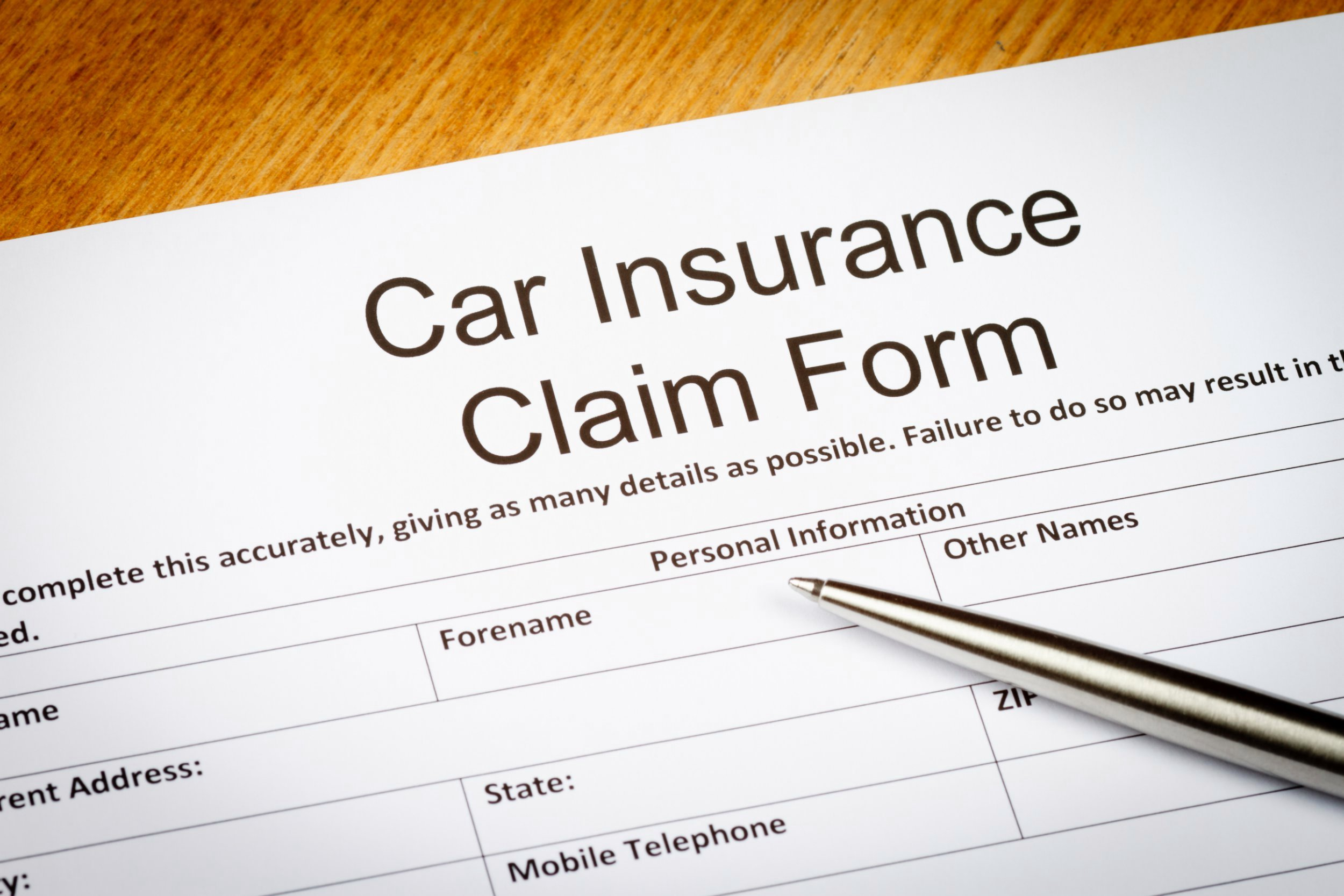 Best Way To Fill Car Insurance Claims