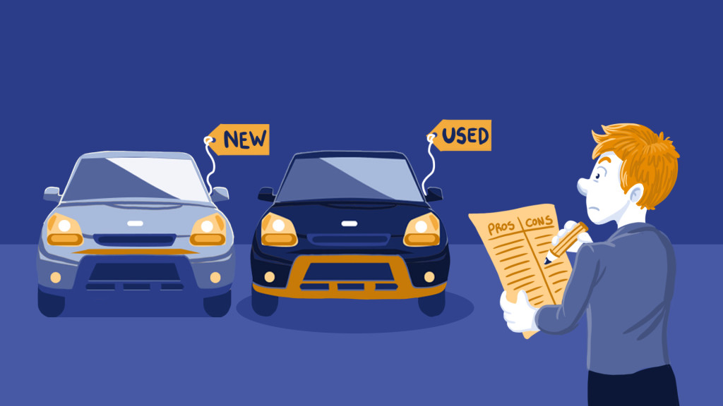 Difference between a new car and used car insurance