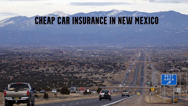 Cheap car insurance in New Mexico